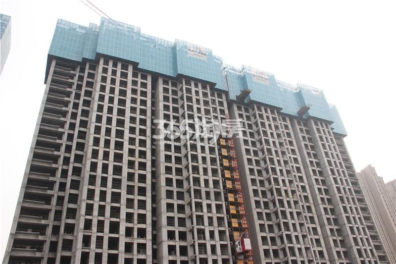 4#楼住宅 主体结构已修建至25层 共32层
