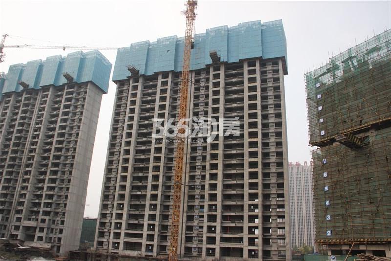3#楼住宅 主体结构已修建至24层 共32层