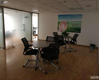 金峰大厦地铁口全套办公家具可注册公司朝南随时办公
