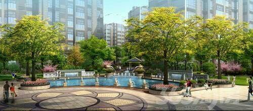 河畔公园阳光景宅地铁口潜力花园洋房送车位置业首选之地