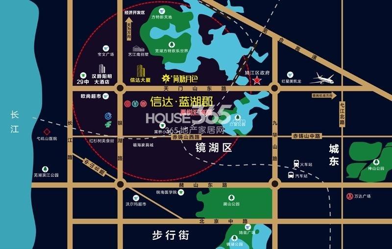 龙隐别墅交通图
