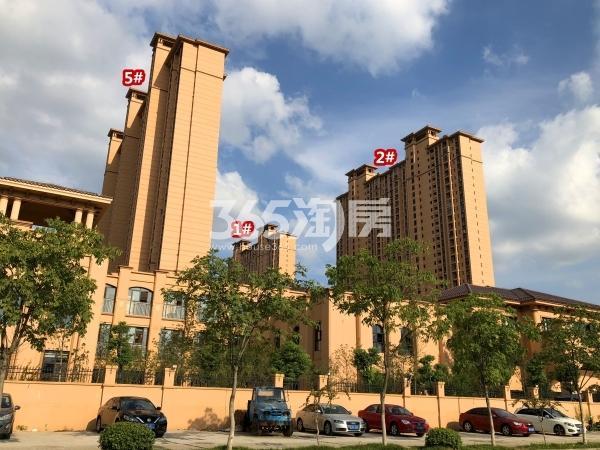 雅居乐中央府B区1#、2#、5#楼现房实景(2018.9摄)