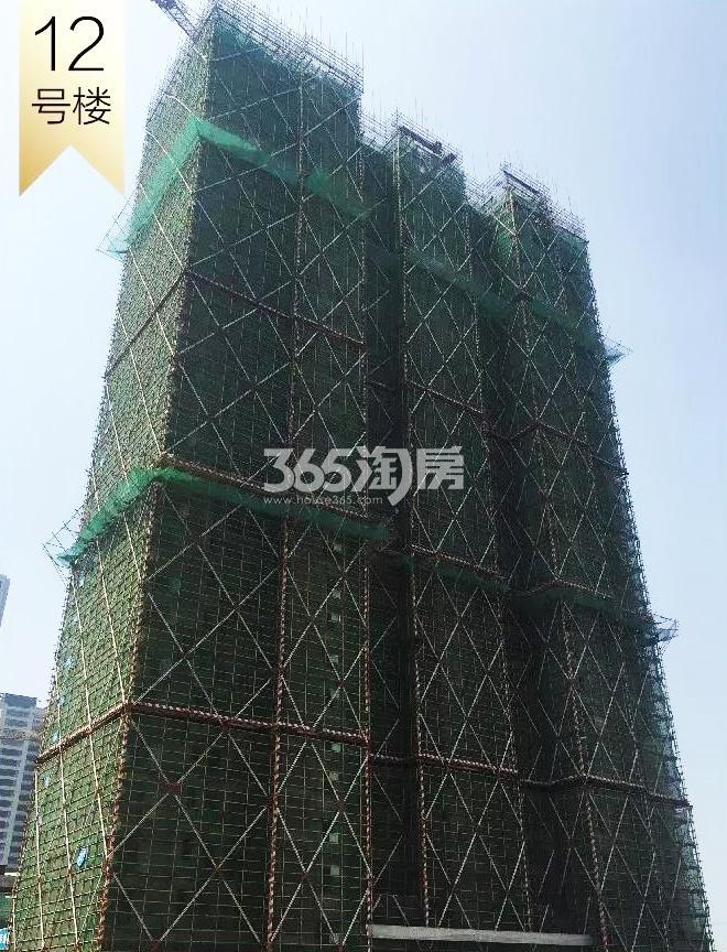 2018年8月融信澜天高层12号楼实景
