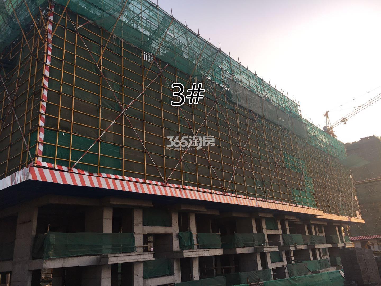 j江山薈3号楼实景图(12.18)