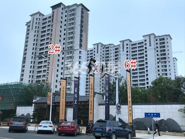 蓝光雍锦里高层2#、6#楼实景图(2018.6 摄)