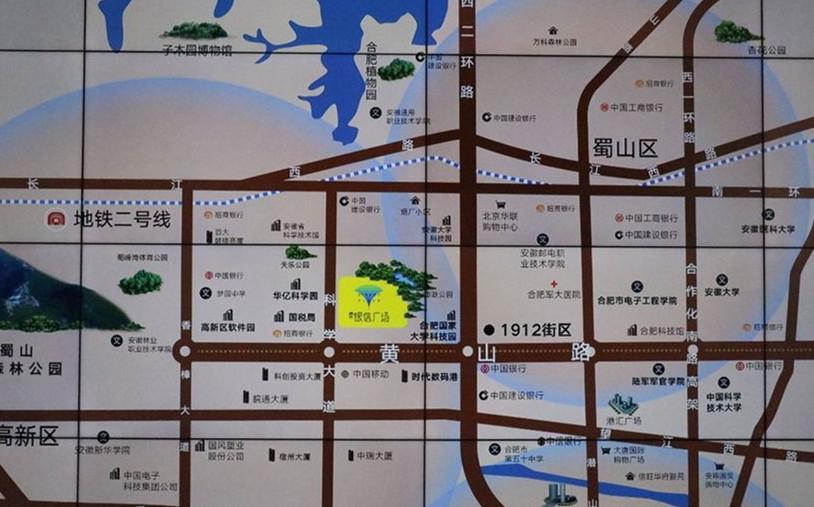 信达银信广场交通图