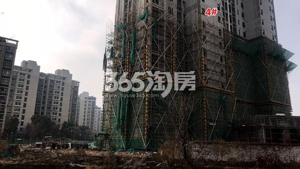锦熙府4#楼工程进度实景图(2018.1摄)
