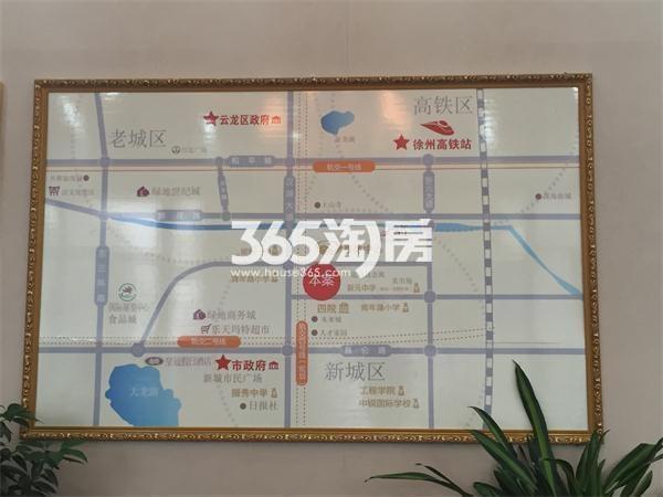 奥体沁园交通图