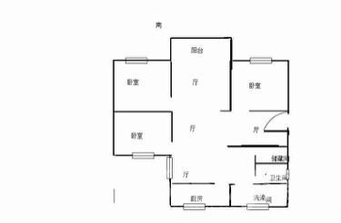 新都花园3室3厅1卫106平米中装产权房1999年建满五年