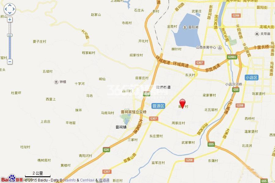 林语兰庭交通图
