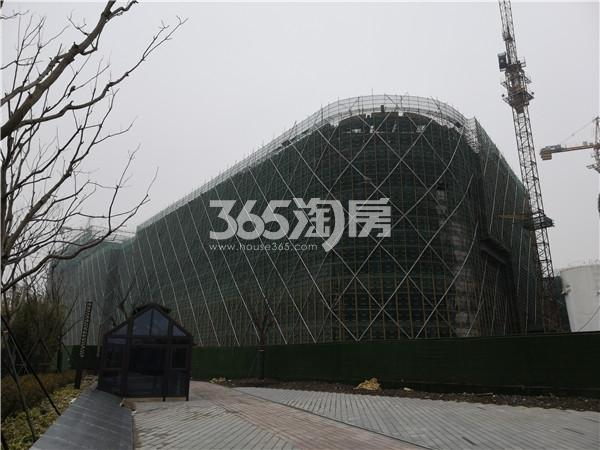 东方万汇城综合体在建实景图(2.21)