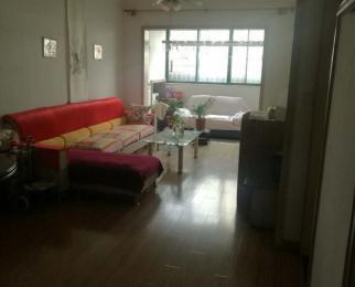 花园实验小学1号线沁园五星小区2楼精装朝南两房送大露台朝南客厅