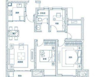 万科蓝山93平学区房 精装修190万 急售 邻近地铁口