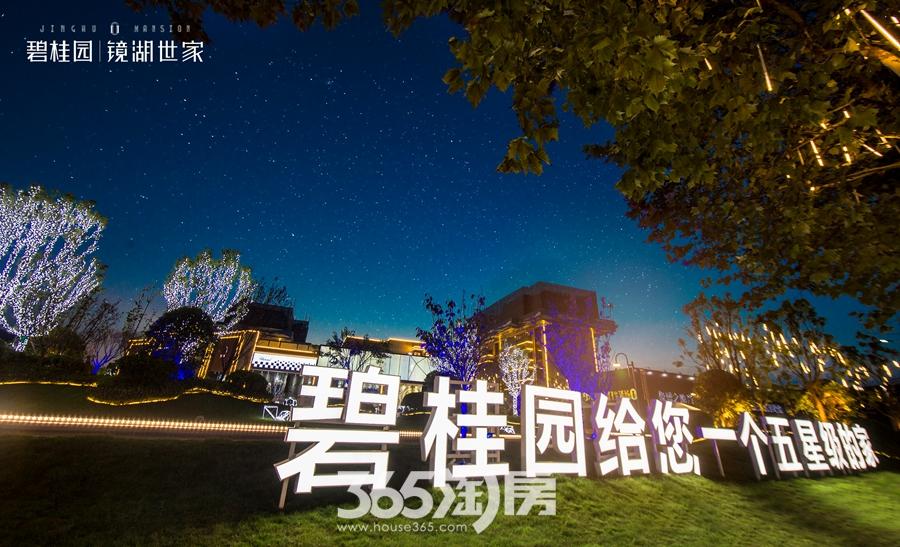 碧桂园镜湖世家夜景实景图(2018.8摄)