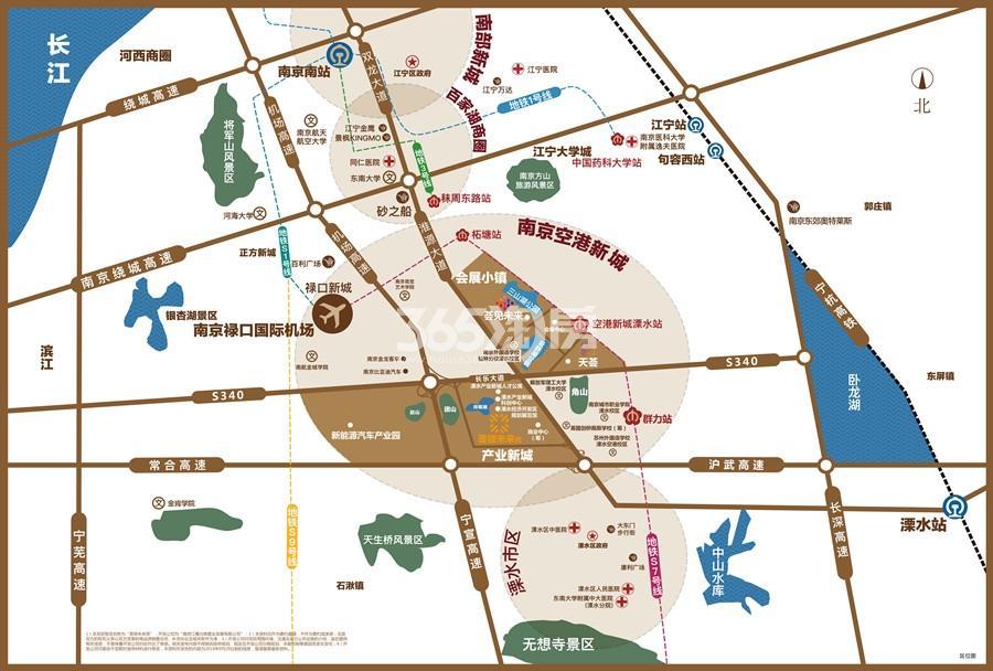 荟领未来苑交通图