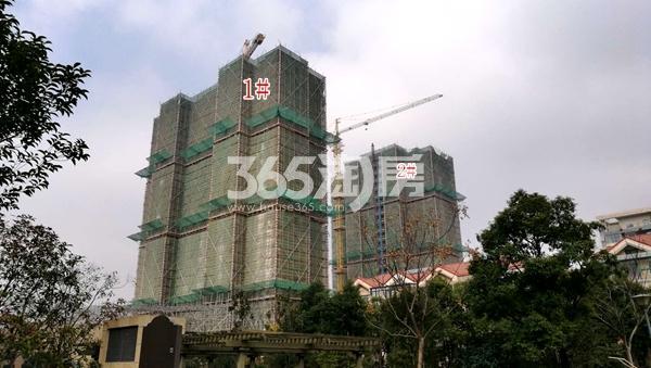百好锦园1#、2#楼高层最新进展(2018.2)