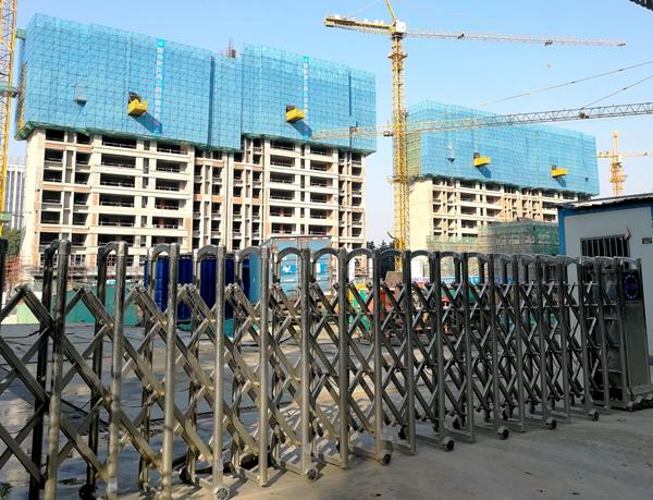 银城东樾府工程实景
