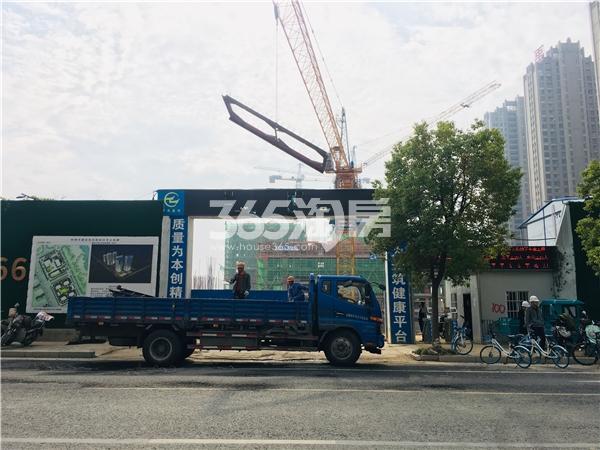 禹洲栖湖朗廷 项目工程实拍图 201812