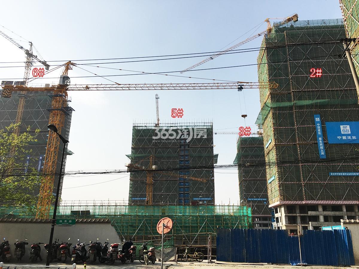 2018年3月31日首开杭州金茂府2、3、5、6号楼实景
