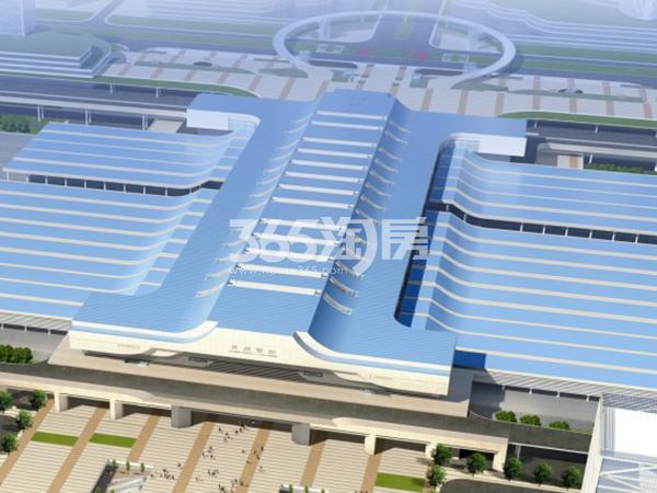 国际旅游港中央首府效果图