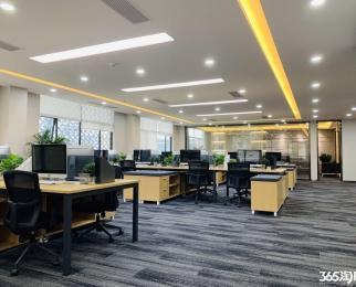 中胜地铁口新城科技园 徐矿广场旁 420平精装带家具 送车