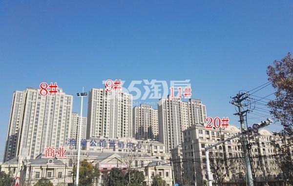 海尔滟澜公馆一期高层8-11及商业和20#楼实景(12.20)