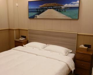 天灿棕榈岛酒店客房豪华装整租(拎包入住)