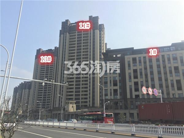 大华锦绣华城阅江山施工进展(5.16)