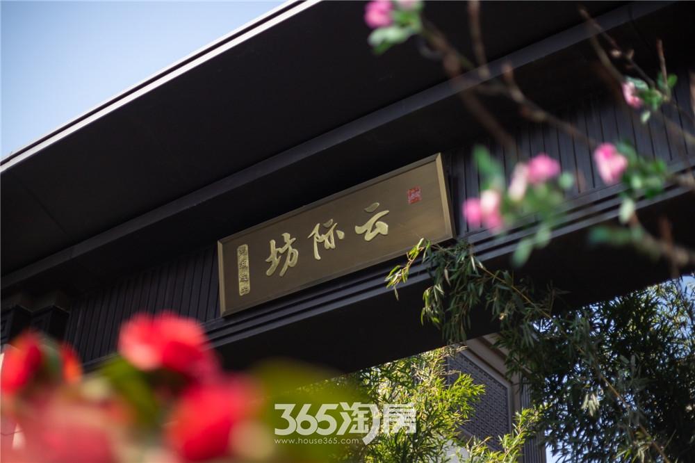 伟星芜湖院子园林实景(2020年3月摄)
