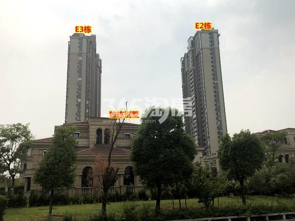 蠡湖一号二期E2栋、E3栋高层现房实景(2018.6摄)
