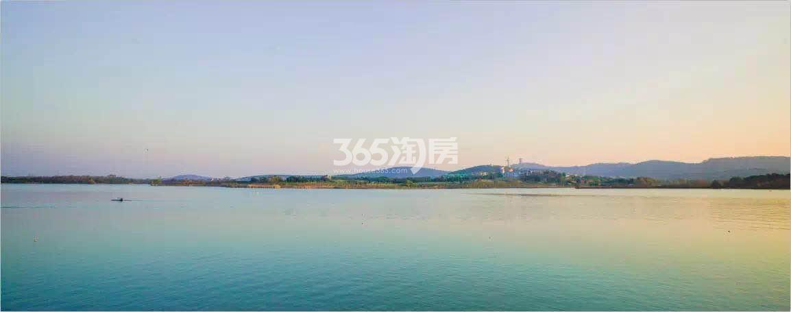 美好紫蓬山壹号周边湖景实景图(2018.7.3)