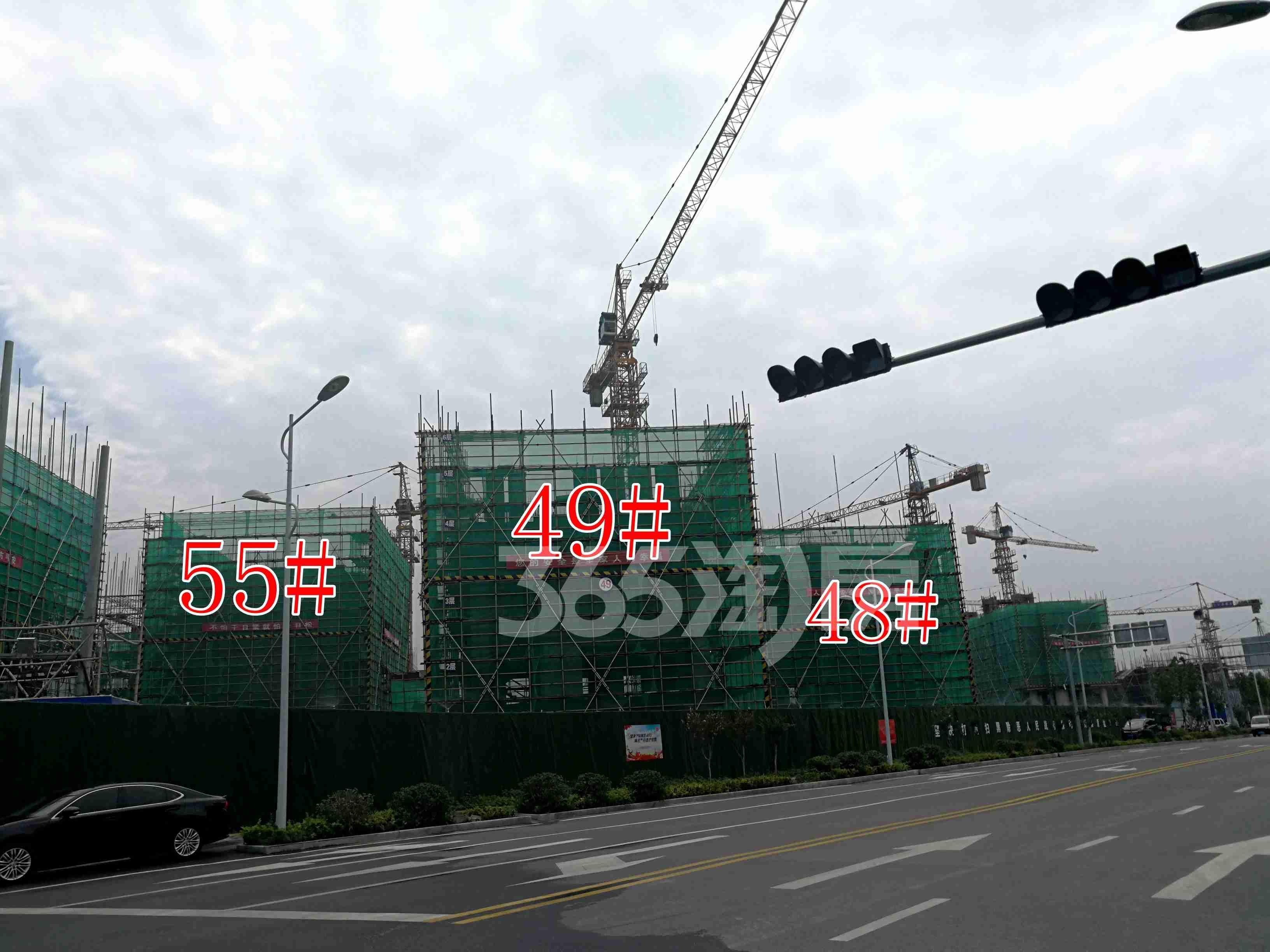 观澜别院49、48、55#工地实景图(8.26)