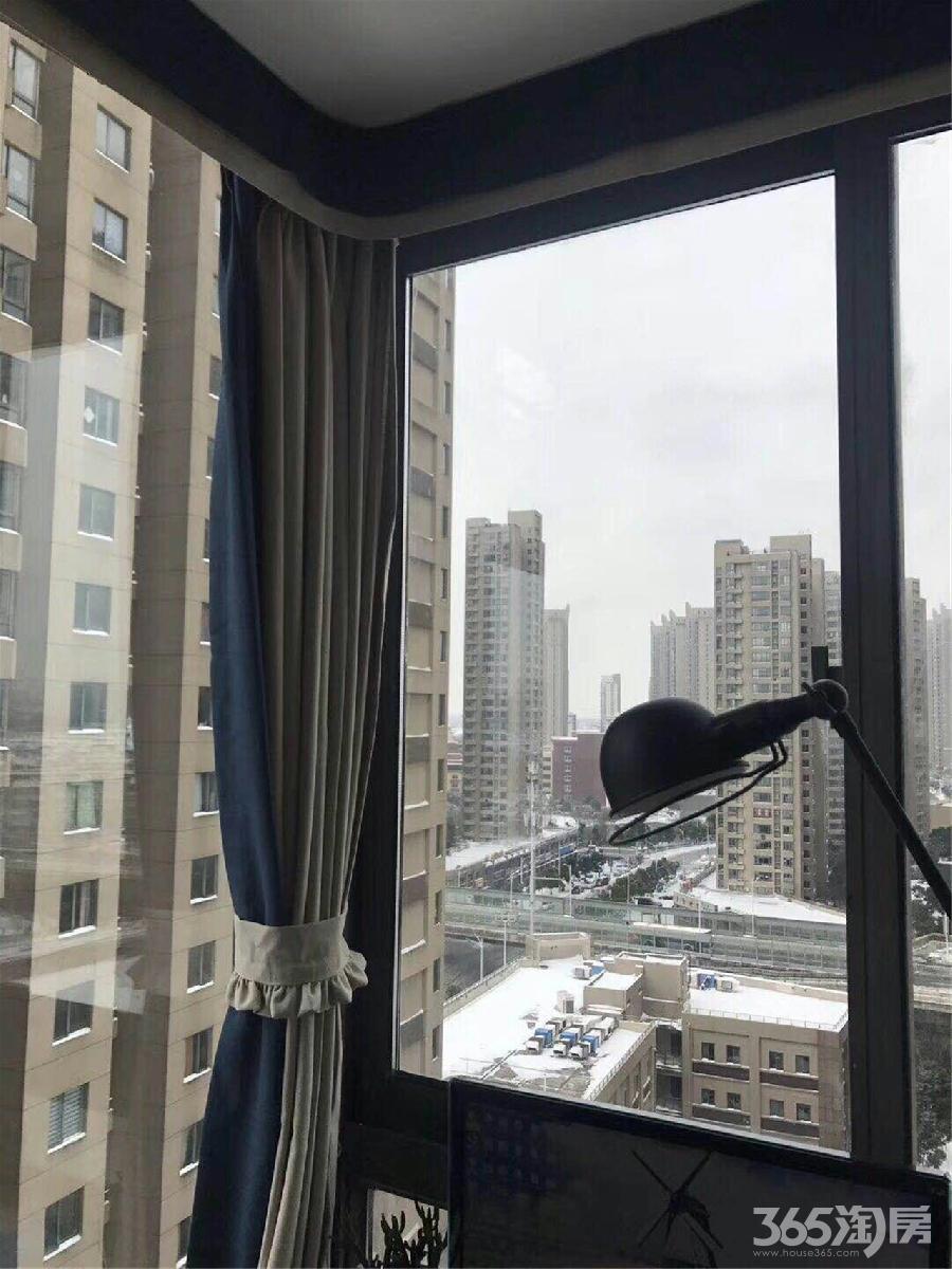 金域蓝湾全新豪装66平2室1厅全新设3500/月