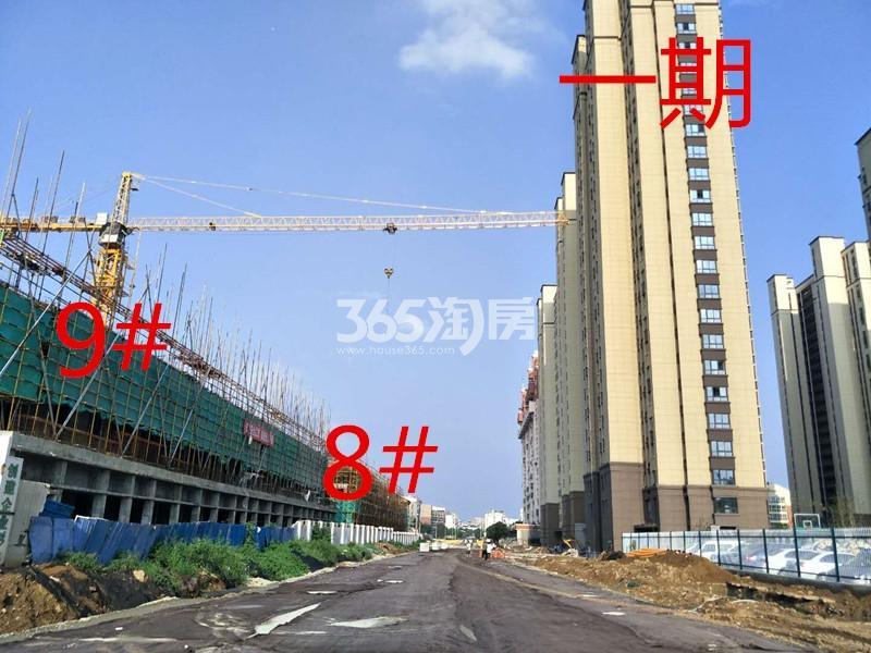绿地理想城悦湖公馆8、9#楼约建至三层(8.15)