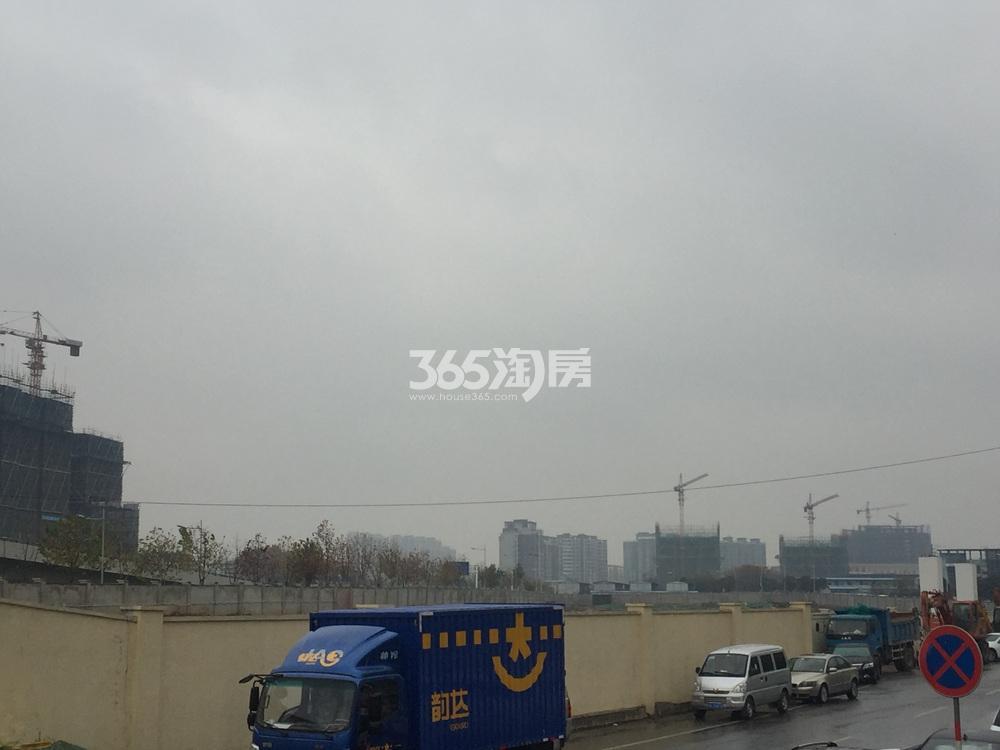 万科南站G46地块实景图