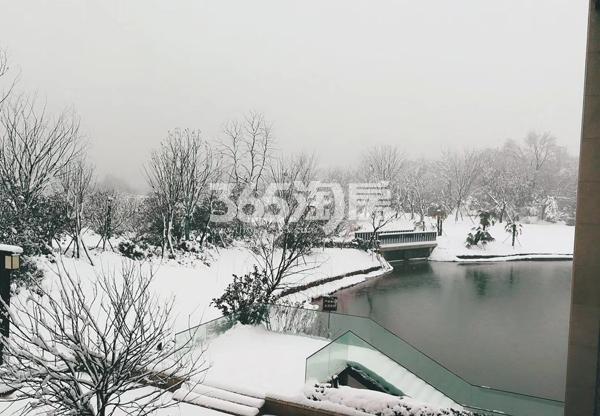 融创信达政务壹号售楼部外雪景图(2018.2.3)