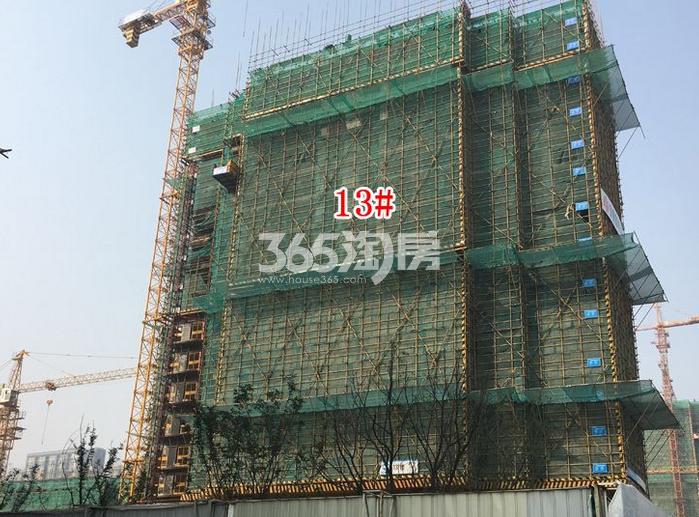 弘阳时光里13#实景图(2018.2.5)