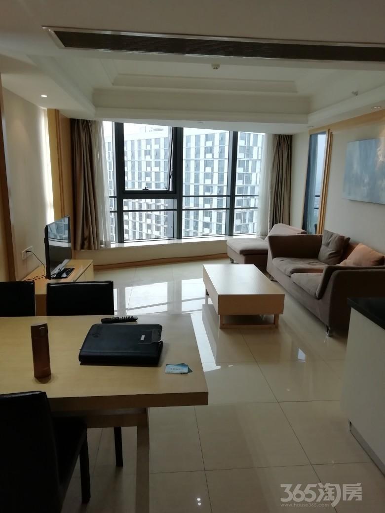 凤凰国际公寓2室2厅1卫86平米整租精装