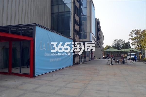 绿地西水东中央生活区实景图(2016.2.25日摄)