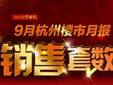 专题:9月杭州商品房共成交12699套 环比下降15.67%