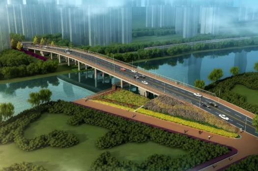 东至路上跨匡河项目即将施工