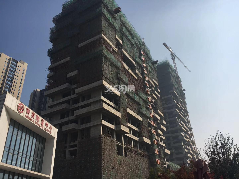 明发财富中心1号楼实景图(12.14)