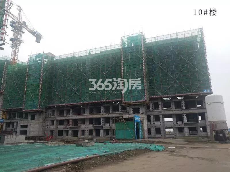 鸿坤理想湾10#楼实景图(2018.7 摄)