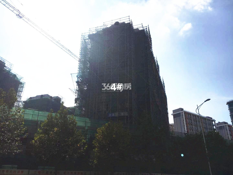 通宇林景尊园4号楼实景图(10.18)