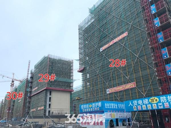 伟星玖璋台28#-30#楼施工中(2017.12摄)