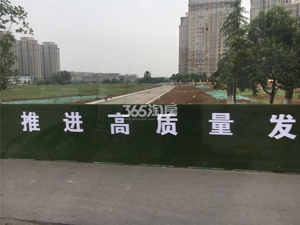 中航樾广场周边在建道路(5.19)