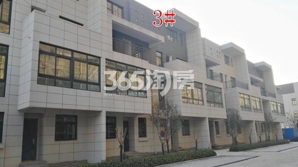 恒泰山水文园工地别墅3#楼工程进度实景图(12.25)