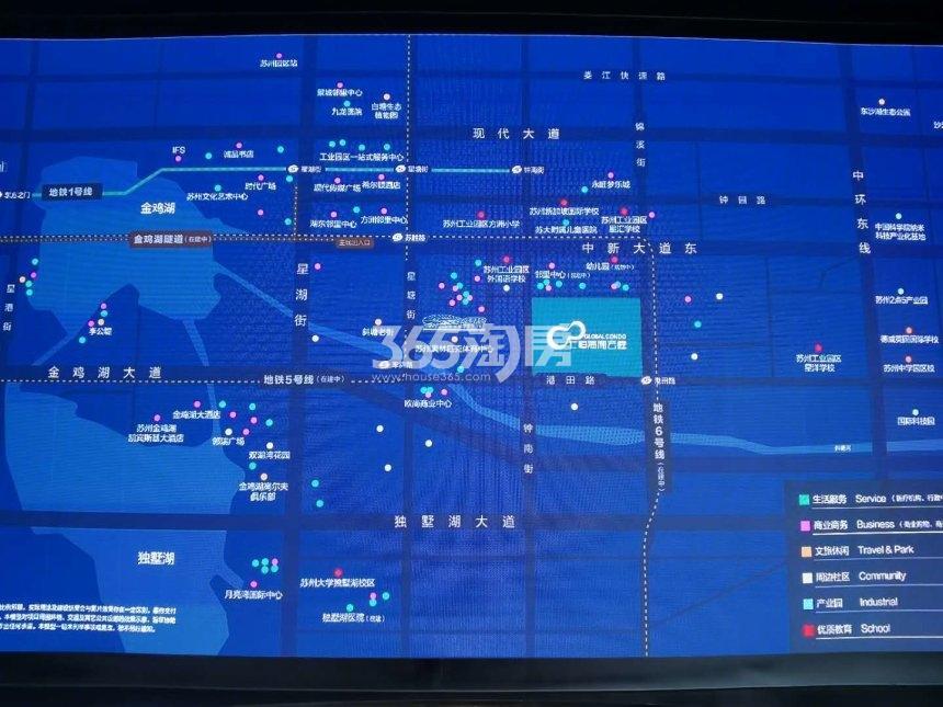 仁恒·海和云庭交通图