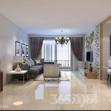 斜信太古城3室2厅1卫118平米精装