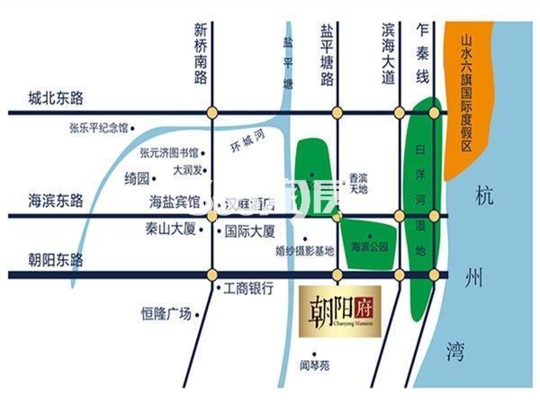 朝阳府交通图